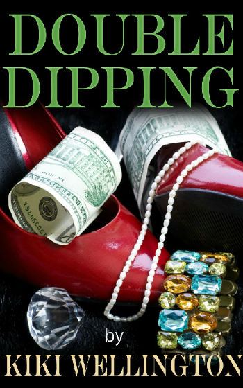 Double Dipping by Kiki Wellington book cover