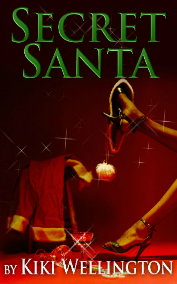 Secret Santa by Kiki Wellington book cover