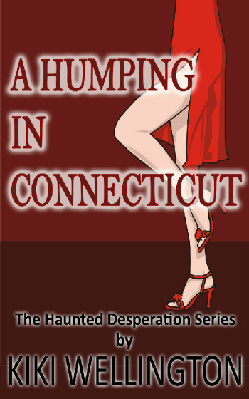 A Humping in Connecticut by Kiki Wellington book cover
