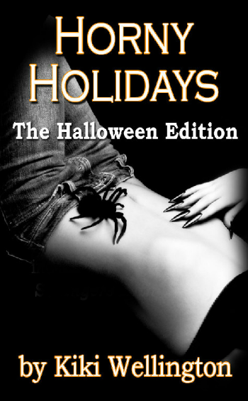 Horny Holidays - Halloween Edition by Kiki Wellington book cover