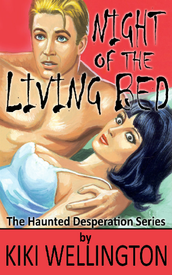 Night of the Living Bed by Kiki Wellington book cover