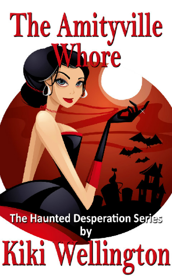 The Amityville Whore by Kiki Wellington book cover