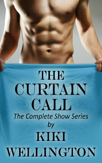The Curtain Call by Kiki Wellington book cover
